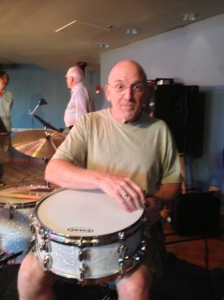 Here's Adam Nussbaum, looking very fit before his gig at the Regatta Bar... August 7, 2013